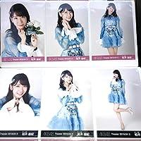 AKB48 柏木由紀 月別生写真 2019 4月 April 1+2 6種コンプ