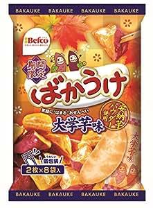 栗山米菓 ばかうけ 大学芋味 16枚 ×12袋
