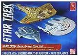 プラッツ 1/2500 スタートレックシリーズ ディープ・スペース・ナイン 宇宙艦3隻セット プラモデル