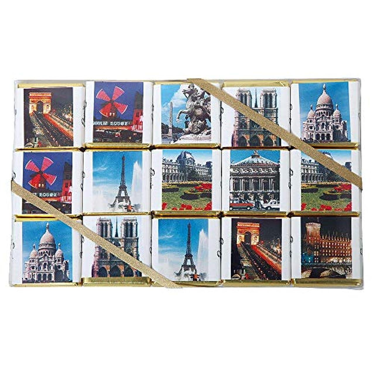 前提白い立派なフランスお土産 フランス風景 コレクションチョコレート