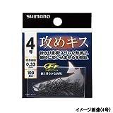 シマノ 攻めキス HOOK 100本 フック RG-NS1N 6号 釣り針