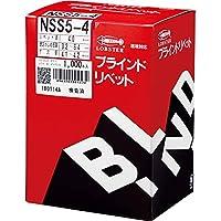 エビ ブラインドリベット(1000本入) ステンレス/スティール 5-4 NSS54