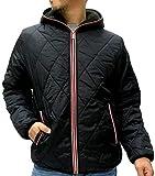 (コンバース) CONVERSE 中綿ジャケット メンズ アウター ジャケット パーカー 裏ボア 4color L ブラック