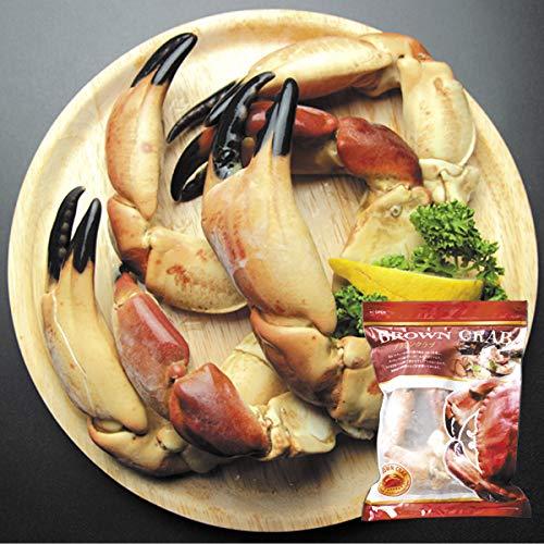 国華園 ボイル ブラウンクラブ・爪 2kg (1袋5〜7本入り) かに 蟹 カニ 冷凍便