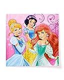 プリンセス 紙ナプキン 16枚入り(シンデレラ、白雪姫、アリエル) Princess napkins