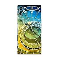 Xperia XZ 601SO ケース スマコレ スマホケース オリジナルスマートフォンケース ハンドメイド 携帯ケース【print】 時計 英語 ビンテージ tpu Xperia XZ エクスペリア XZ クール 005125 Sony ソニー softbank ソフトバンク 601so-005125-tpu