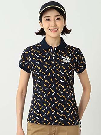 (ビームスゴルフ)BEAMS GOLF/ポロシャツ ORANGE LABEL/チューリップ ポロシャツ レディース NAVY S