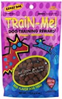 Crazy Dog Train-Me! Training Reward Dog Treats 4 oz. CRP-003