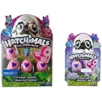 Hatchimals Colleggtibles Season 2 Store Exclusives Combo -- 2 items: Burtle 4-pack and Owlicorn 2-pack [並行輸入品]
