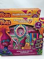 Trolls Scrapbook Set and Treasure記念品ボックスバンドル