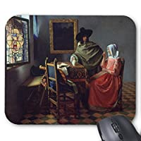Zazzle The Wine Glass、Jan Vermeer マウスパッド