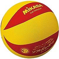 ミカサ ソフトバレー ボール バレーボール 黄 赤 (国内正規品)