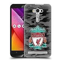 オフィシャル Liverpool Football Club アウェイ・カラーウェイズ・クレスト Camou Zenfone 2 Laser ZE550KL 専用ハードバックケース