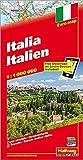 Italia Italien: Distoguide, Euro Map (Road Map)