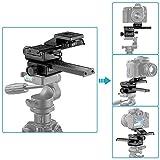 NEEWER カメラ用 四方向 マクロフォーカス用 スライダレール/スライダー Canon,Nikon,Sonyなどのカメラに対応 【並行輸入品】
