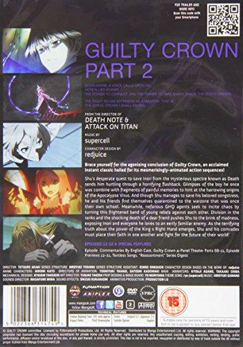 ギルティクラウン コンプリート DVD-BOX2 (12-22話, 250分) GUILTY CROWN アニメ [DVD] [Import] [PAL, 再生環境をご確認ください]
