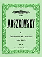 MOSZKOWSKI - Estudios de Virtuosidad Op.72 para Piano (Iberica)