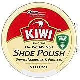 Kiwi Shoe Polish Neutral (50ml) キウイ靴磨きニュートラル( 50ミリリットル)