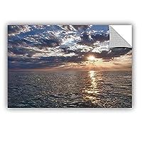 ArtWall Dan Wilson's Lake Erie Sunset I Art Appeelz Removable Graphic Wall Art 32 by 48-Inch [並行輸入品]