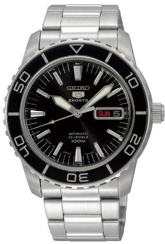 [セイコー]SEIKO 腕時計 SEIKO 5 SPORTS(セイコー ファイブ スポーツ) オートマチック デイデイト 海外モデル 日本製 SNZH55JC メンズ 【逆輸入品】