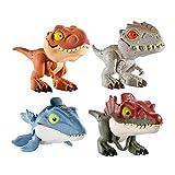 ジュラシック・ワールド かみかみコレクション アソート 4個入り BOX販売 GGN26-986D ティラノサウルス1個 インドミナスレックス1個 モササウルス1個 スピノサウルス1個