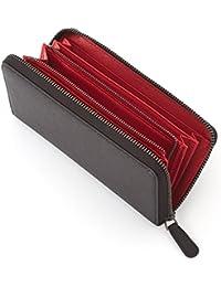 【 本格 長財布 】 長財布 ラウンドファスナー メンズ ブランド 財布 使いやすい 本革 革財布 [ Crayon Rouge ]