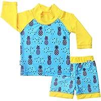 JAN & JUL Sun Protection Kids Water Play: Hat Swim Shirt, Shorts Baby Toddler
