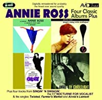 Four Classic Albums Plus (Annie By Candlelight / Gypsy / A Gasser / Sings A Song With Mulligan) by Annie Ross (2011-02-15)