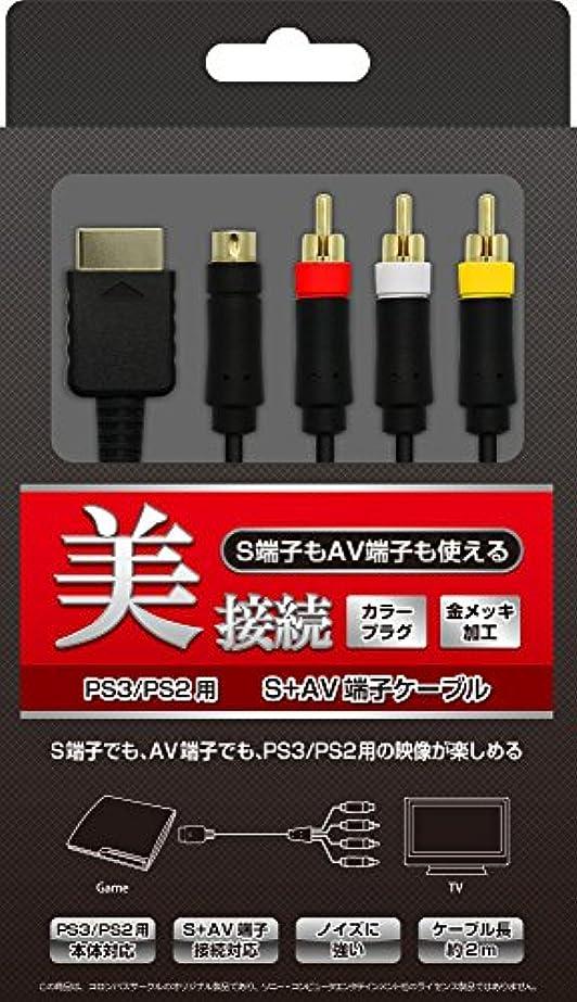リマキャンセルトレッド(PS3/PS2/PS用) S+AV端子ケーブル