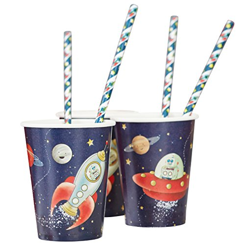 (Paper Cups) - Ginger Ray Space Adventure Spaceshi...