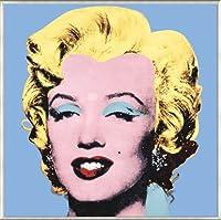 ポスター アンディ ウォーホル マリリンモンロー (Marilyn) 1964 (Shot Blue) 額装品 アルミ製ベーシックフレーム(ライトブロンズ)