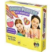 Creativity For Kids Stitch Perfect BFF Jewelry Kit [並行輸入品]