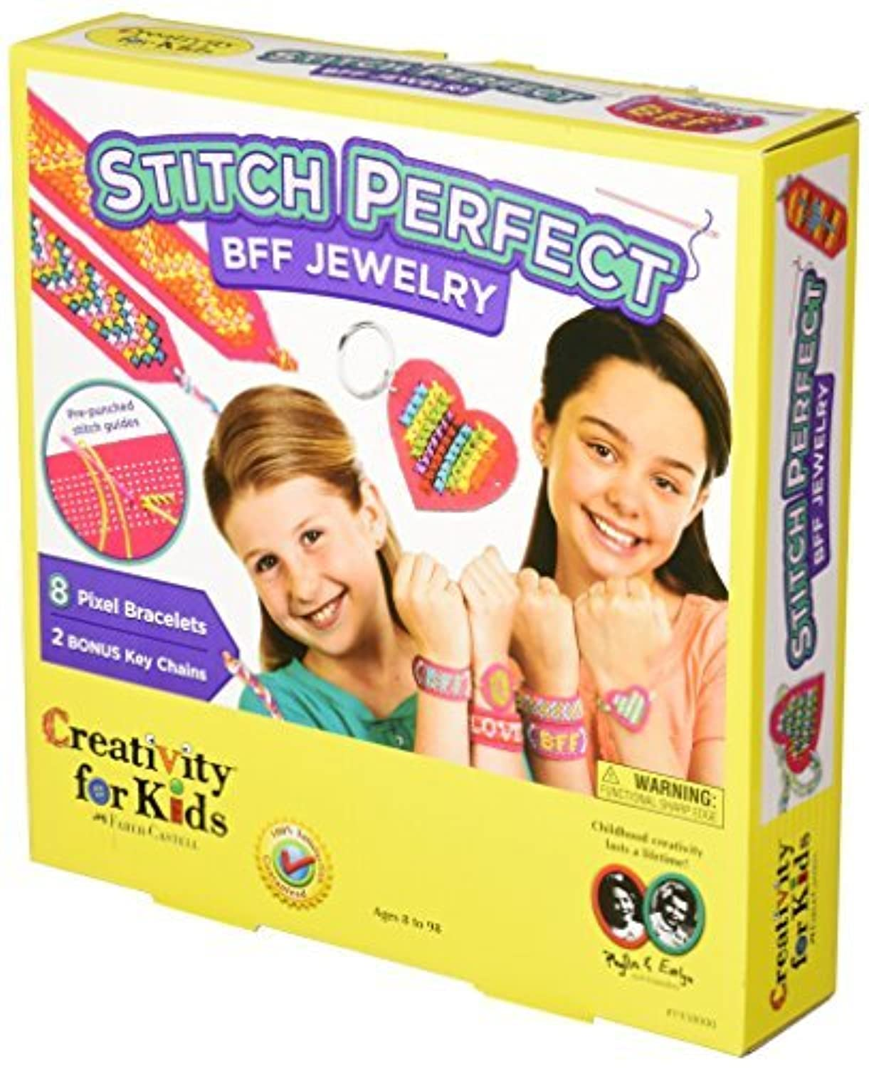 Creativity For Kids Stitch Perfect BFF Jewelry Kit [並行輸入品]