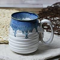 bxsbh-qualityカップ/The gradient-glazedセラミックカップマグカップコーヒーマグカップお茶カップAカップルカップ