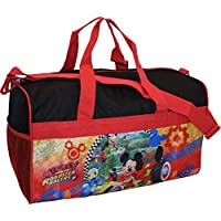 "Disney Junior Mickey Mouse and The Roadster Racers 18"" Carry-On Duffel Bag"