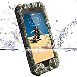 【ZVE】iPhone6s ケース iPhone6ケース 完全防水ケース アイフォン6s/6用 4.7インチ 多機能スマホケース 防塵 防雪 耐衝撃カバ ー 指紋..