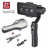 Zhiyun SMOOTH Q 手持ち式3軸ジンバル プロ ワイヤレスポータブルスタビライザ スマートフォン用 充電式 撮影安定適用iPhone/Android(Black Smooth Q)