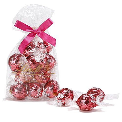 リンツ (Lindt) チョコレート リンドール ストロベリー&クリーム 10個入り