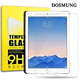 Amazon.co.jpDOSMUNG iPad Air 1/2/Pro 9.7インチ液晶保護 強化ガラス フィルム、スクリーンプロテクター、高精細度、クリスタルの透明性、9H硬度、新設計 ガラス飛散防止 傷防止 指紋防止 気泡ゼロ スーパースムーズ