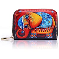 APHISON RFID Blocking Coin Pouch Purse Credit Card Case Holder Wallet With Zipper 306
