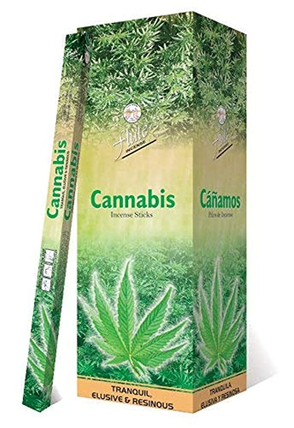 リム誰でも援助Incense SticksフルートCannabis Agarbatti 200 Sticks Squareパケット