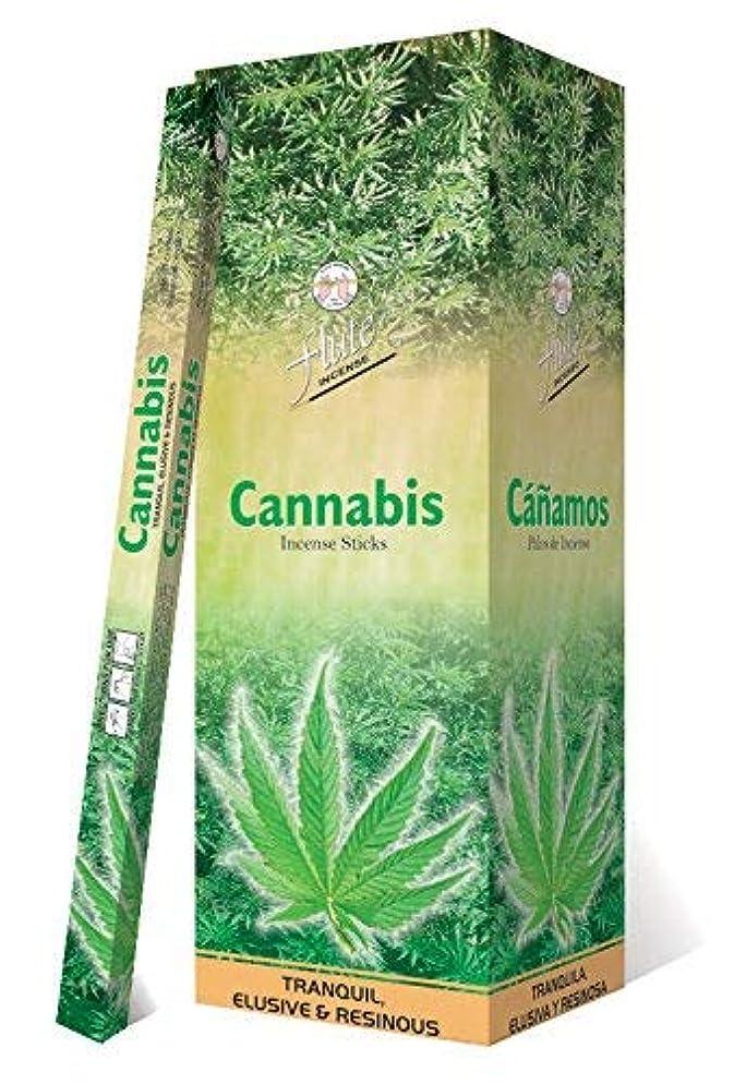 投げるアロング水星Incense SticksフルートCannabis Agarbatti 200 Sticks Squareパケット