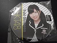 HKT48 下野由貴 デカ缶バッジ