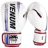 VENUM ヴェナム ボクシンググローブ BANGKOK SPIRIT スパーリンググローブ キックボクシング (ホワイト) (14oz)