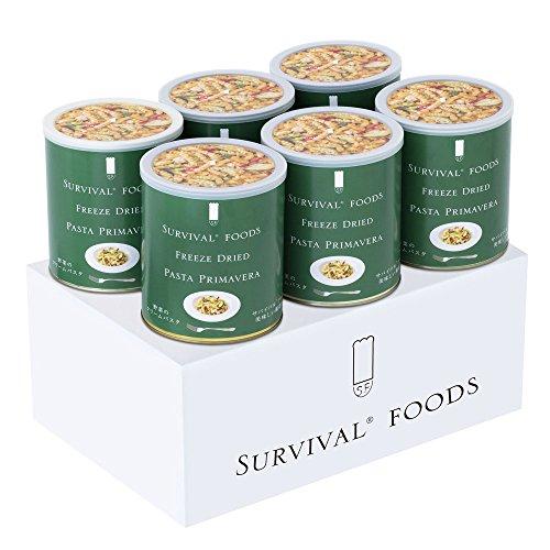 サバイバルフーズ 野菜のクリームパスタ 6缶セット 大缶