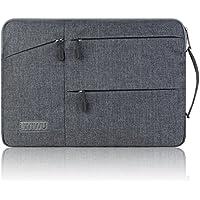 PCインナーバッグ 防震 防水 13.3インチ pc ケース 通勤 マックブックケース ラップトップ/ノートパソコン/MacBook Pro/Air/ウルトラブック用 PCバッグ(13.3インチ.グレー)