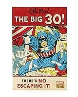 キャプテンアメリカThe Big 30誕生日カード
