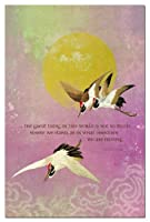 Tree-Free Greetings ECOnotes Thank You Card Set 4 x 6 Inches 12-Count Cards with Envelopes The Great Thing (94652) [並行輸入品]