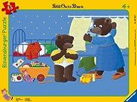 Ravensburger - 06765 - Puzzle Enfant avec Cadre -Petit Ours Brun dans Sa Chambre - 45 Pièces
