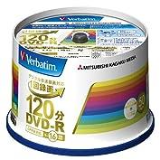 三菱ケミカルメディア Verbatim 1回録画用DVD-R(CPRM) VHR12JP50V4 (...